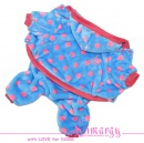 Lim010586-2 Overal Funny blue/pink