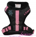 Lim04003-3 Harness Diam sport black/pink