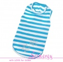 "ES01031-2 T-shirt ""Paw"" light blue"