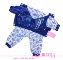 "Lim010662 Raincoat ""Gjel"" blue"