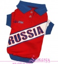 Lim010607 T-Shirt RUSSIA red