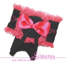 Lim010550 Underwear Belt black/pink