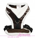 Lim04005 Harness Fur brown/white