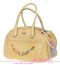 Lim020012-2 Bag 'Snake' yellow