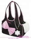 Lim020006 Bag 'Bow' brown/pink