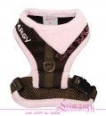 Lim04005-2 Harness Fur brown/pink