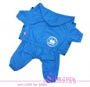 "ES01032-2 Raincoat ""PROMO"" blue"