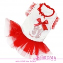 Lim010543 Dress Balet red