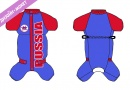 "EST01013 Winter overal ""Rus01"" red/blue"