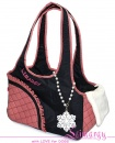 Lim020007-2 Bag 'Side' black/pink