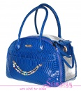 Lim020012 Bag 'Snake' blue