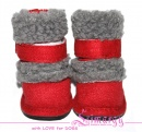 Lim04015 Boots 'New UGG' red