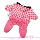 ES01013P-N PLUSH Overal 'Greece-Girl-2' pink