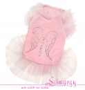 Lim010598-2 Dress Diam Angel pink