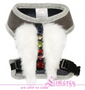 Lim04006-2 Harness Fur Ang grey
