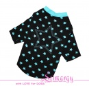 "Lim010671-2 Shirt ""Stars"" black"