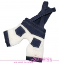 Lim010562 Jeans overal Plush blue