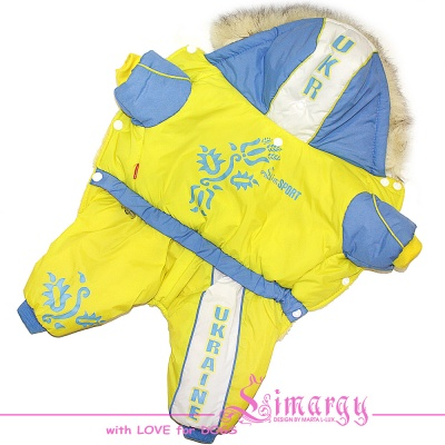 Lim010509 Overal LimSport Ukraine yellow