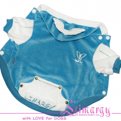 Lim010592-3 Jacket Wings diam blue
