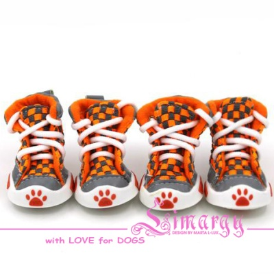 VSE14001-4 Boots 'Chess' orange