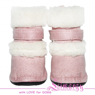 Lim04015-4 Boots 'New UGG' light pink