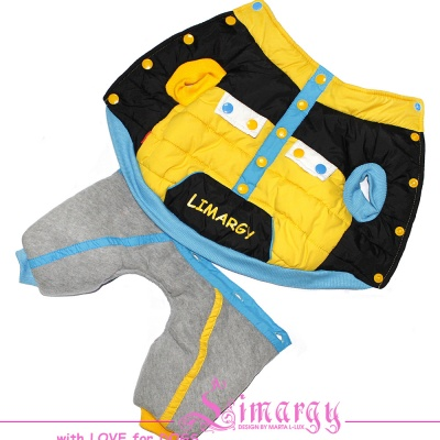 Lim010581 Overal LimSPORT Limargy yellow/blue