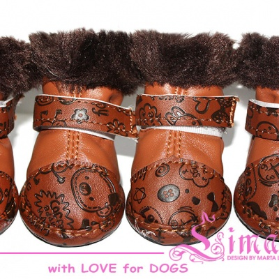 Lim04016-6 Boots 'Fun brown