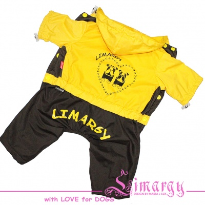ES01001-2 Raincoat 2dogs yellow