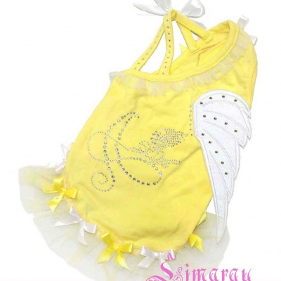 Lim010544 Dress Wing yellow