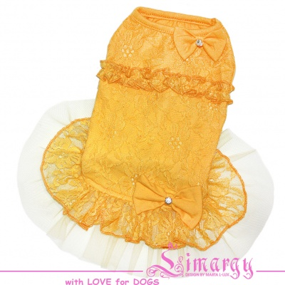 Lim010600-2 Dress Mesh yellow