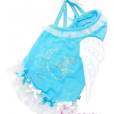 Lim010544-2 Dress Wing blue