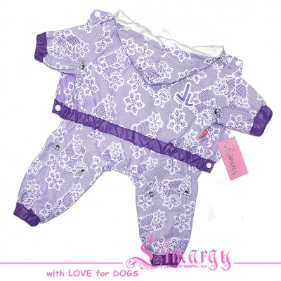 "Lim010660-2 Raincoat ""Lace"" violet"